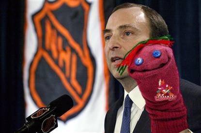 Yes... it's a sock puppet!
